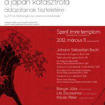 Emlékkoncert – A japán katasztrófa áldozatainak tiszteletére