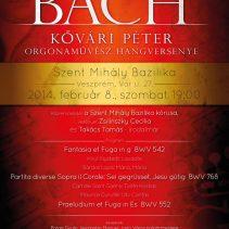 Bach³ – Kővári Péter orgonaművész hangversenye Veszprémben
