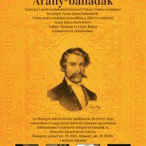 Az Aegis Kultúráért és Művészetért Alapítvány az Arany-emlékév keretein belül bemutatja az Arany-balladák című irodalmi-versszínházi rendezvényét