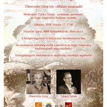 Folytatódik a Parnasszus kortárs apostolai est sorozat Székesfehérváron